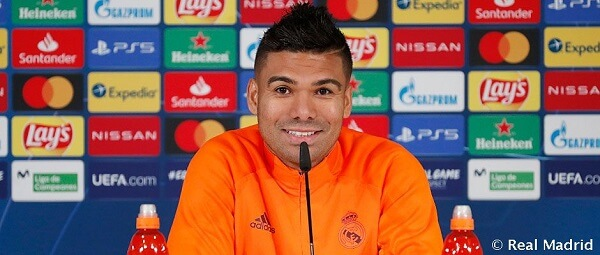Casemiro, Real Madrid Champions League