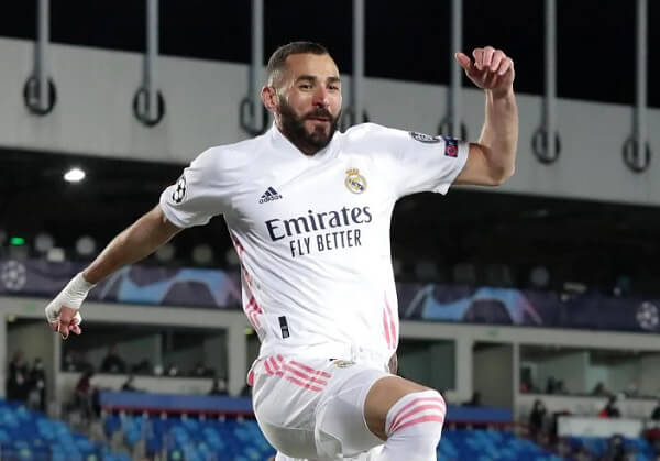 Benzema Real Madrid Champions League