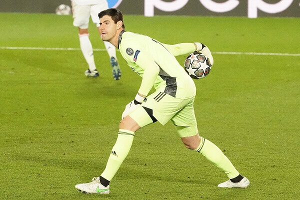 Courtois Real Madrid Champions League