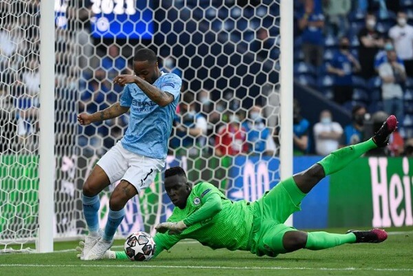 Sterling Manchester City Champions League